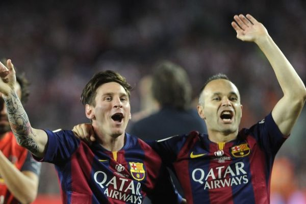 Andres Iniesta has opened up about Lionel Messi